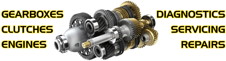 Gearboxes, clutches, engines, diagnostics, repairs and servicing